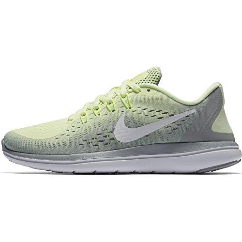 Running RN Volt Sense Grey Sneaker White Shoe Free Nike wolf Damen Women's Barely qWXaS