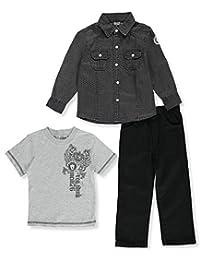 "Quad Seven Little Boys' Toddler ""Grade A"" 3-Piece Outfit"