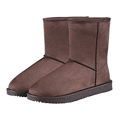 Amazon.com | Women's Mid Calf Snow Boots Waterproof