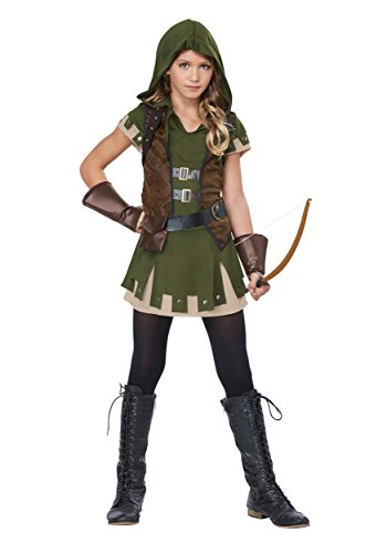 Girl's Miss Robin Hood Costume -