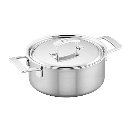 Demeyere Industry 5-Ply 5.5-qt Stainless Steel Dutch Oven ()