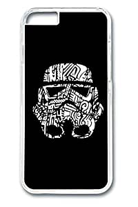 iPhone 6 plus Case, 6 plus Case - Crystal Clear Hard Case Cover for iPhone 6 plus Star War 2 New Release Clear Case Bumper for iPhone 6 plus 5.5 Inches