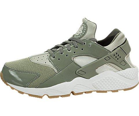 Nike Women's Air Huarache Run Dark Stucco/Pale Grey Running Shoe 7 Women (Nike Air Total Package)