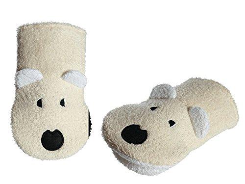 aus Baumwolle mit Haken Zum Aufh/ängen Tiermotiv hibuy Biene Waschhandschuh Waschlappen f/ür Kinder
