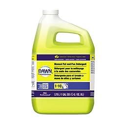 Dawn Professional Manual Pot Pan & Dish Detergent, Lemon, 1 Gallon (1 Bottle) - BMC- PGC57444EA