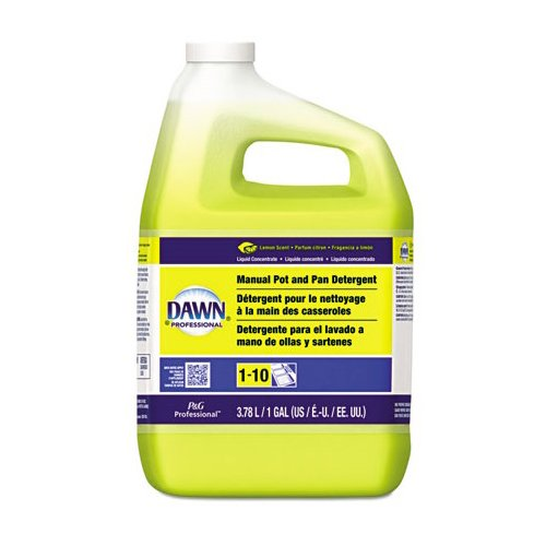 Pan Detergent Lemon - Dawn Professional Manual Pot Pan & Dish Detergent, Lemon, 1 Gallon (1 Bottle) - BMC- PGC57444EA