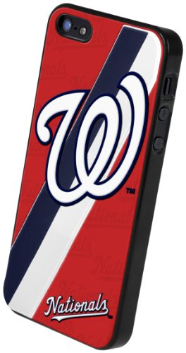 MLB Washington Nationals 3D Team Logo iPhone 5 Case