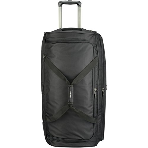 Delsey Luggage Cruise Soft 30'' Trolley Rolling Duffel, Black, One Size by DELSEY Paris