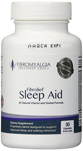All Natural Fibrolief Sleep Aid Fibromyalgia