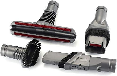 Feketeuki Accesorios para aspiradoras Punta Cabezal del Cepillo Dc35 Dc45 Dc52 V6 Kits de Accesorios de 4 Piezas para Accesorios de aspiradora Dyson-Gris: Amazon.es: Hogar