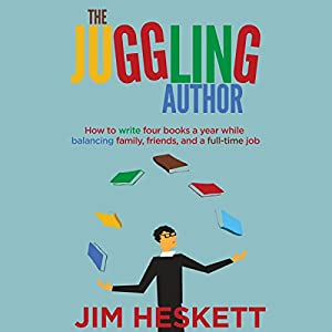 The Juggling Author Audiobook