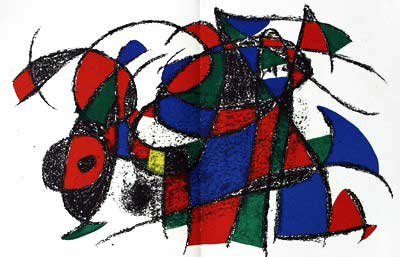 Joan Miro - Original Lithograph IV From Miro Lithographs II, Maeght Publisher by Joan