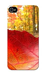 High-quality Durable Protection Case For Iphone 5/5s(fallen Leaf ) For New Year's Day's Gift