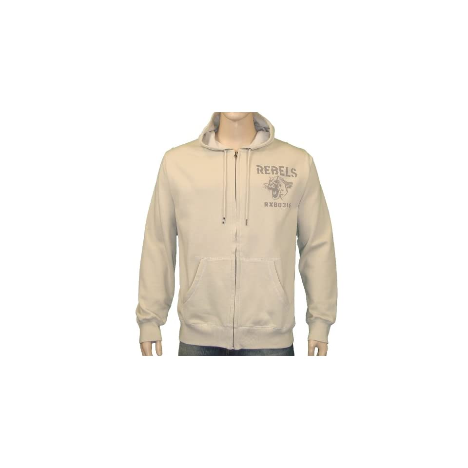 Lucky Brand Jeans Brooklyn Hoodie Sweater in Tan XL