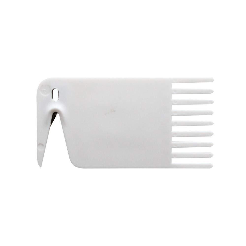 Reinigungsb/ürste,About1988 Staubsauger Haar Reinigungswerkzeug,Praktische Abrollb/ürste f/ür den Xiaomi Roboterstaubsauger 6,5 x 3,4 cm Wei/ß