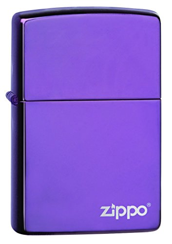 (Zippo Pocket Lighter 24747ZL Logo Abyss Pocket Lighter)