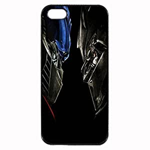 Optimus Prime vs Megatron - Transformers Custom Image For HTC One M8 Phone Case Cover Diy pragmatic Hard For HTC One M8 Phone Case Cover High Quality Plastic Case By Argelis-Sky, Black Case New