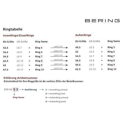 Bering-Anneau simple pour anneau intérieur, Arctic Symphony Collection 557–29–X1