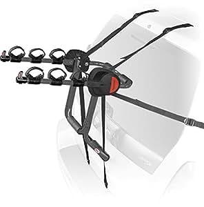 Bell Sports 1003125 3-Bike Trunk Triple Back Bike Rack (Gray)