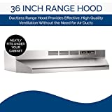 Broan-NuTone 413604 Non-Ducted Ductless Range Hood