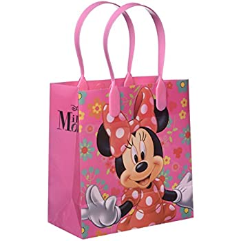 12 Pcs Minnie Mouse Authentic Licensed Small Party Favor Goodie Bags