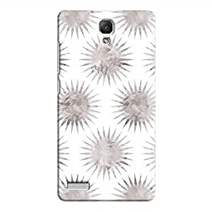 Cover It Up - Silver White Star Redmi Note 4G Hard Case