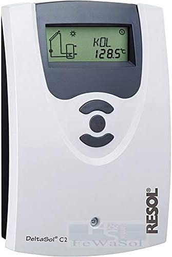 Resol Solarsteuerung Differenztemperaturregler Delta Sol CS//2 mit 2 F/ühler