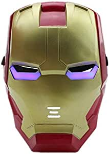 WINDO Luminous LED Child Halloween Kids Iron man Face Masks Party Cosplay WD001