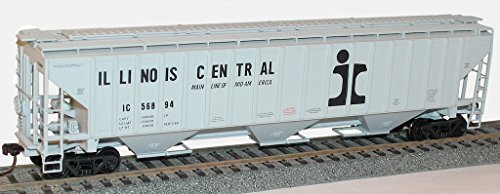 Accurail ACU6516 HO KIT PS-4750 3-Bay Covered Hopper, IC