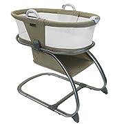 Baby Planet Oasis Breathable Mesh Convertible Bassinet (Linen)