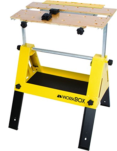 WorkBox Multifunctional Portable Toolbox to Workstand