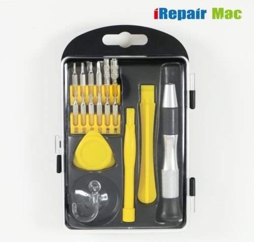 18 in 1 Apple Repair Tool Set Fix Tool Kit For Apple iMac MacBook iPad iPhone Repair Tools Set Precision Multi-Bit by iRepairMac