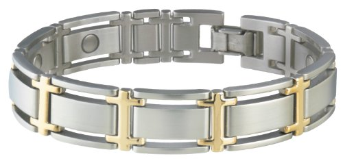- Sabona Executive Symmetry Duet Magnetic Bracelet - Large