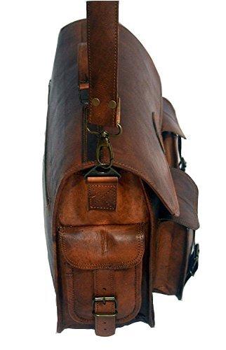 Amazon.com  Chuffed Brown Color Handmade Leather 18