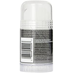 CRYSTAL BODY DEODORANT Stick for Men - Unscented (4.25 fl oz)