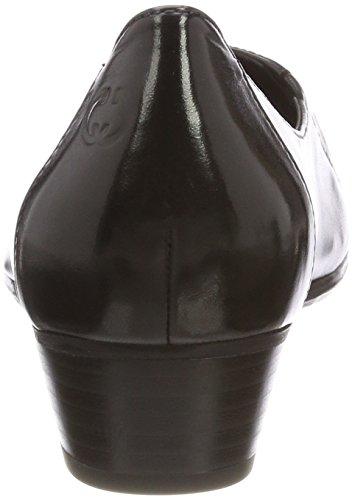 para Cerrada 100 Carina Weber Tacón con Mujer de Negro Schwarz Gerry Punta 15 Zapatos FUwzqz