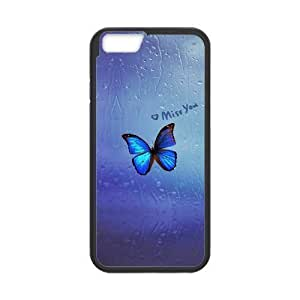 "Beautiful butterfly New Printed Case for Iphone6 4.7"", Unique Design Beautiful butterfly Case"