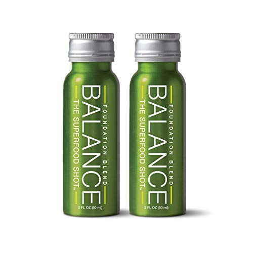 (Superfood Shot, Organic Blend of Fruits, Vegetables and Greens, Smoothie, Green Drink to Take on The Go, Juice Cleanse, 2oz. Serving, Vegan, Gluten-Free (2 Pack))