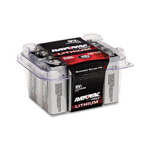 Ultra Pro Lithium Batteries 9V 8 per Pack by Rayovac