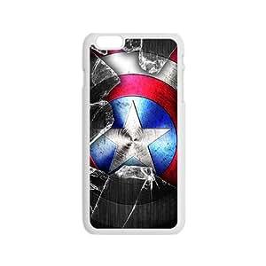 Capital America Design Fashion Comstom Plastic case cover For Iphone 6