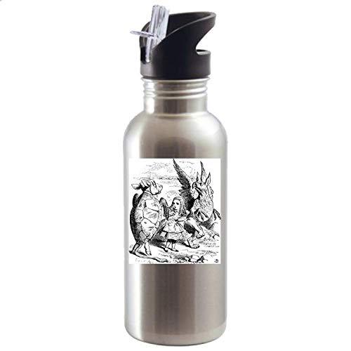 SPUDTC Mock Turtle, Gryphon, Quadrille Dance, Vintage Alice, Alice's Adventures, Alice Wonderland, Charles Dodgson, Lewis Carroll, John Tenniel, Water Bottles