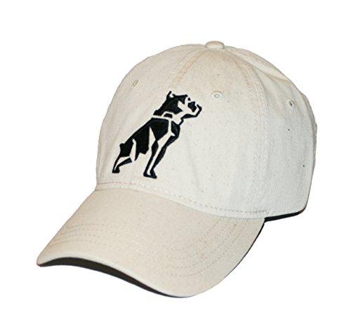 Mack Trucks Stone Khaki Black Embroidered Bulldog Cap -