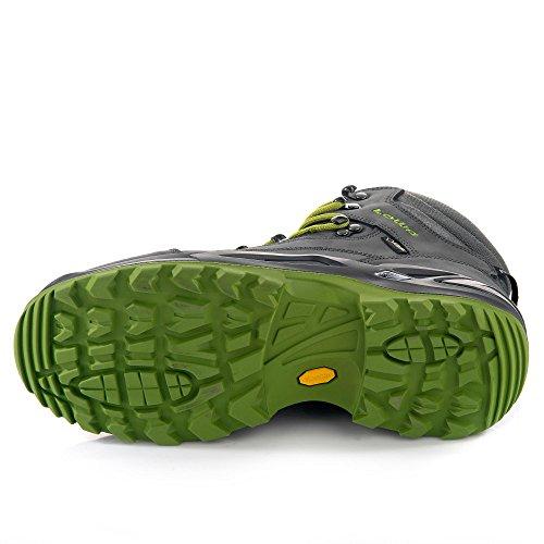 LOWA Renegade GTX Mid Outdoor Schuhe asphalt-grün - 46