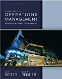 Principles of Operations Management and Student CD, Barry Render and Jay Heizer, 0133407942