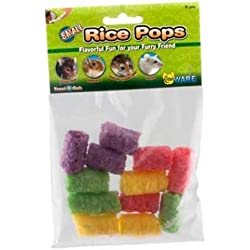 WARE Small Rice Pops Small Animal Treats, Pack of 12 - PACK of 4