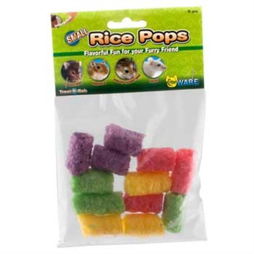 WARE-Small-Rice-Pops-Small-Animal-Treats-Pack-of-12-PACK-of-4