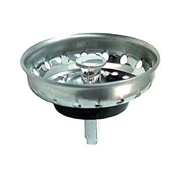 Master Plumber 548 872 MP Basket Sink Strainer, Stainless Steel