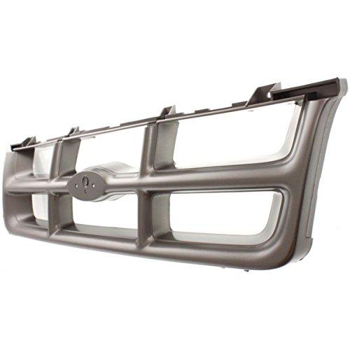 Diften 102-A6562-X01 - New Grille Assembly Argent Flareside Ford Ranger 94 93 1994 FO1200185 F37Z8200DA