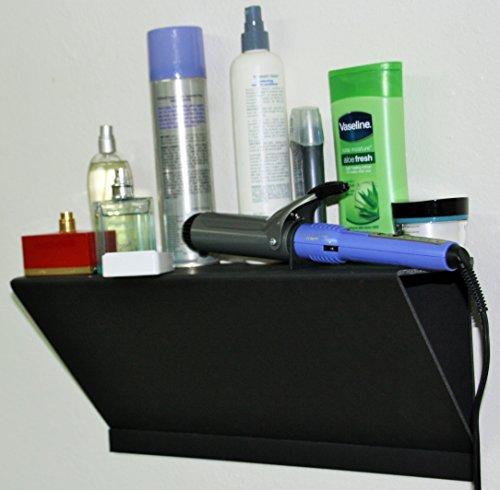 Dorm Shelf No Wall Damage No Tools Needed Black Easy