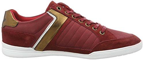 Le Coq Sportif Alsace Low, Zapatillas para Hombre Rojo (Pompeian Red)